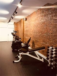 Free weight in our gym for physical therapy purposes. Atlantic office