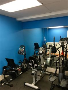 Our exercise room is equipped with state of the art exercises machine for physical therapy purposes.